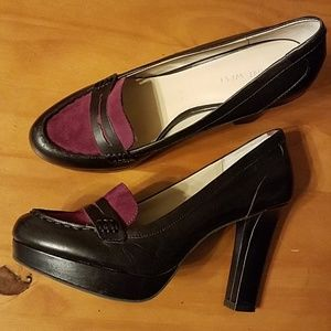 Perfectly Plum Penny Loafer Style Pumps 💜